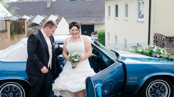 Hochzeit Maria und Daniel Spiegelhof Fotografie Olsmobile Cutlass Herzog Stefan Bild 6