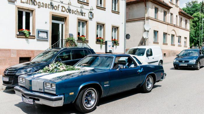Hochzeit Maria und Daniel Spiegelhof Fotografie Olsmobile Cutlass Herzog Stefan Bild 3
