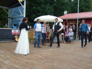 Brautentführung Sandra und Benedikt 1