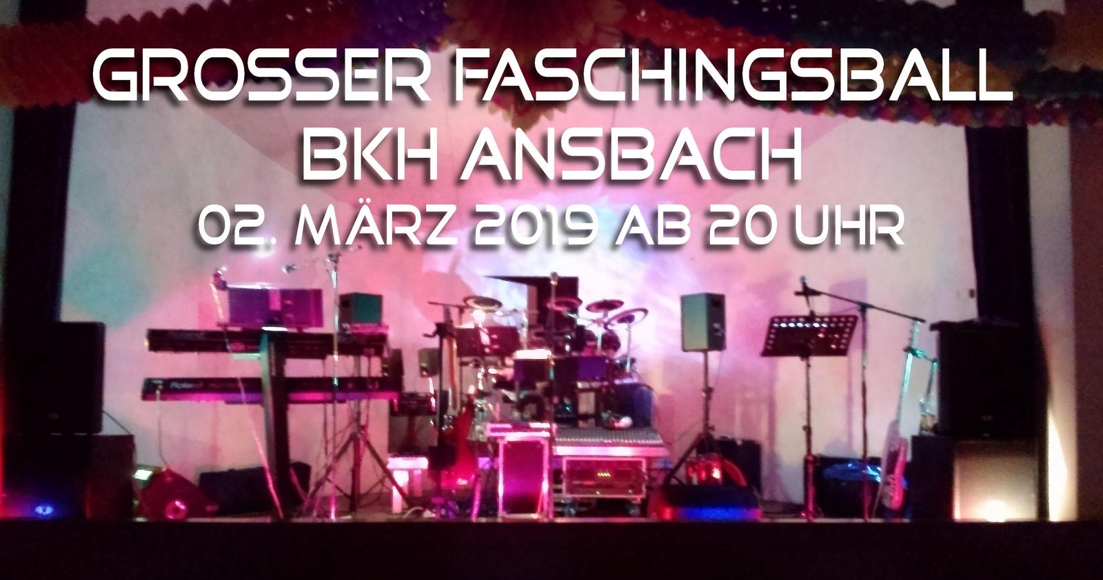 Faschingsball BKH Ansbach 2019 Veranstaltung