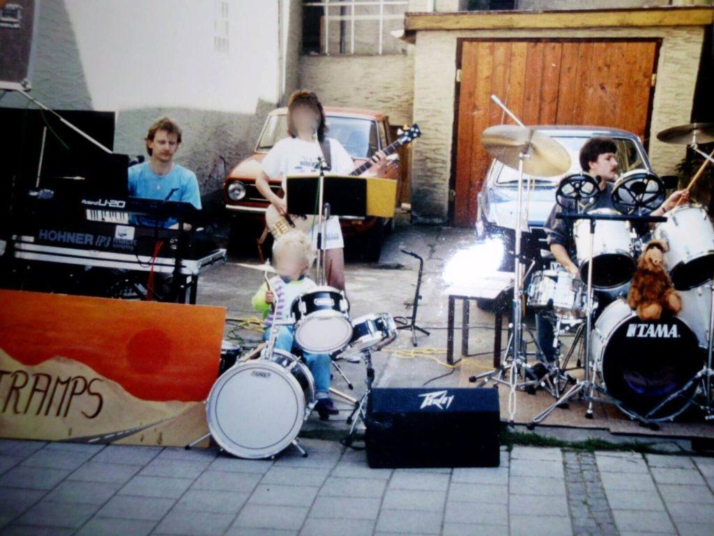 Brigittes Musiktramps 1990