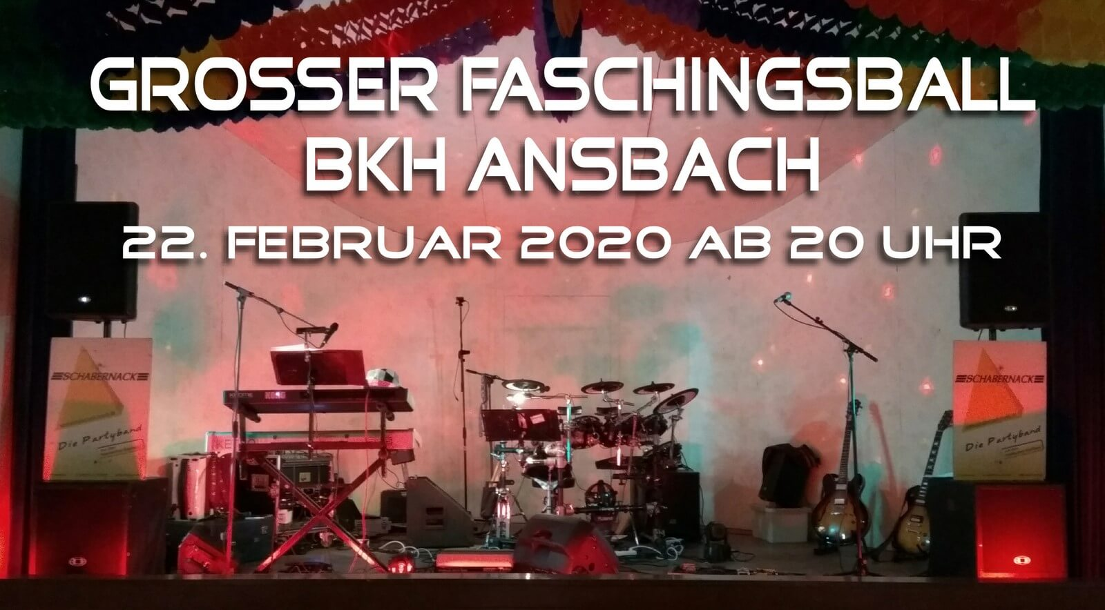 Faschingsball BKH Ansbach 2020