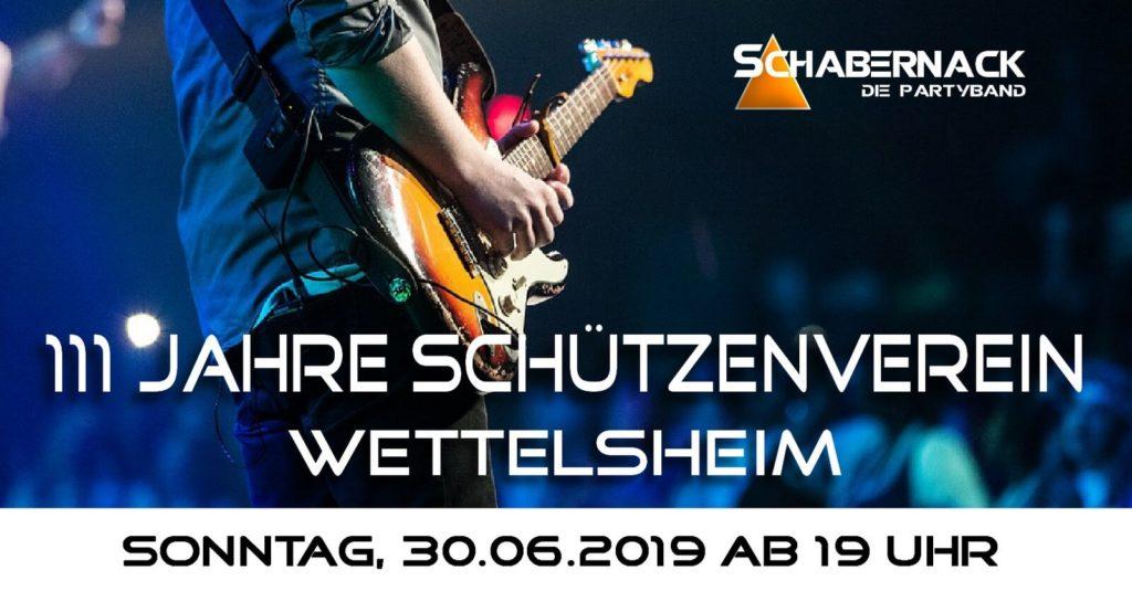 Schützenfest Wettelsheim 2019