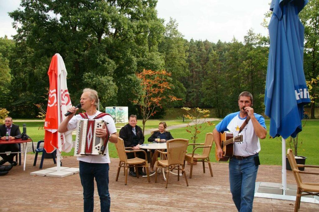 Musiker für die Brautentführung aus Franken 2